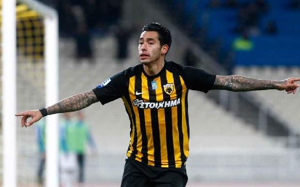 Las Palmas'da oynayan Sergio Araujo için Trabzonspor'un devreye girdiği iddia edildi. (Fotospor)