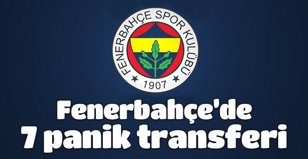 Fenerbahçe sadece son 3 sezonda Avrupa Kupaları'nda yaşadığı facialardan sonra 7 transfer yaptı.