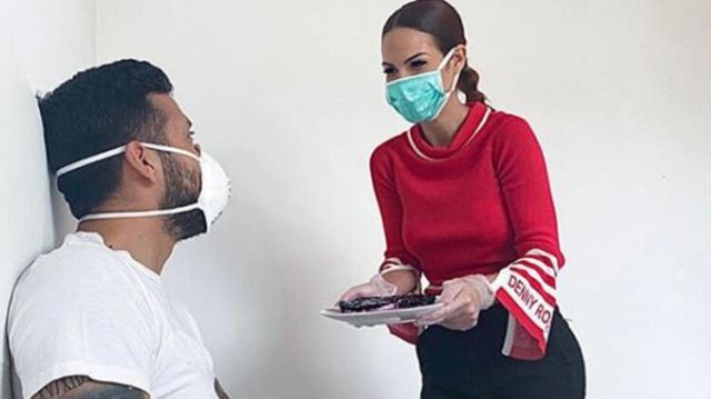 Futbol camiasında corona virüse yakalanan ilk isimlerden biri olan ve hastalığı atlatan Valencia'lı Ezequiel Garay'ın eşi Tamara Gorro, karantina kurallarına uymayanlara yayınladığı video ile açtı ağzını yumdu gözünü.