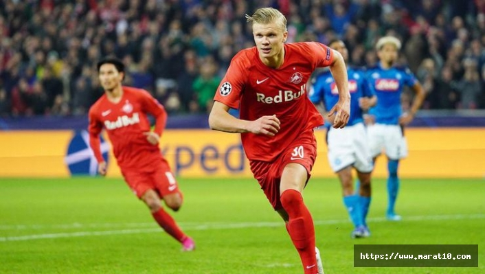 Erling Haaland 80 milyon Euro'ya Manchester'a