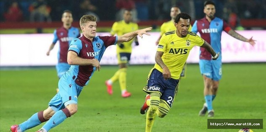 Trabzonspor'un muhtemel Fenerbahçe 11'i!