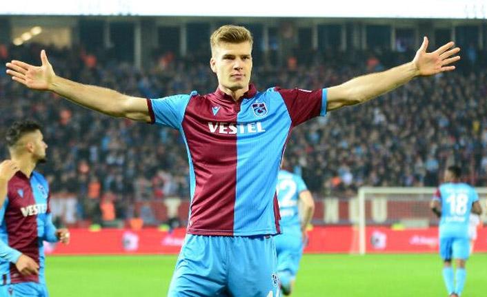 Trabzonspor'dan son dakika Alexander Sörloth açıklaması