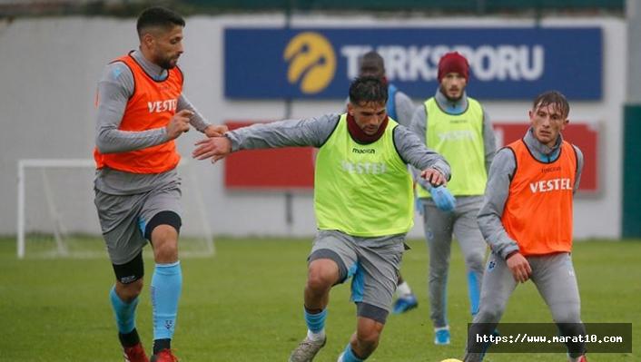 Trabzonspor'un idman planlaması belli