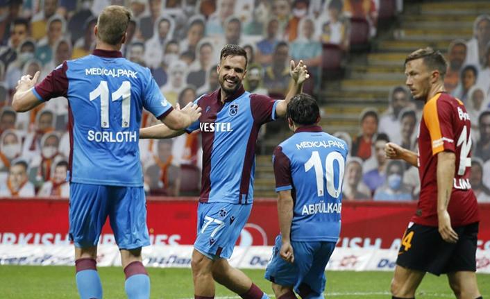 Trabzonspor, Galatasaray'ı mağlup etti