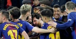 Messi, Barcelona'yı yine kurtardı!