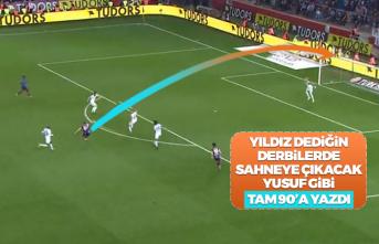 Yusuf Yazıcı'dan Beşiktaş'a müthiş gol