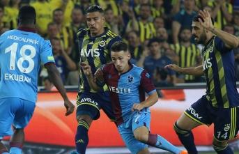 Fenerbahçe ve Trabzonspor 1'er puana razı oldu