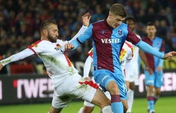 Trabzonspor'a Göztepe darbesi