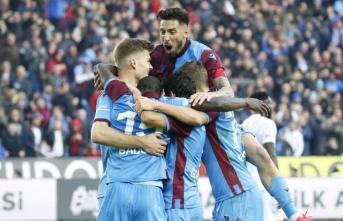 Süper Lig'in yeni lideri Trabzonspor!