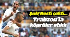 Burak Yılmaz resti çekti! Trabzonspor'la bağları kopardı!