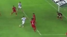 Eran Zahavi'den muhteşem gol! Sosyal medya yıkıldı...