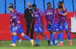 Trabzonspor'da Kayserispor maçı hızır gibi...