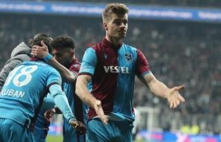 Alexander Sörloth, bu alanda Süper Lig'de tek!