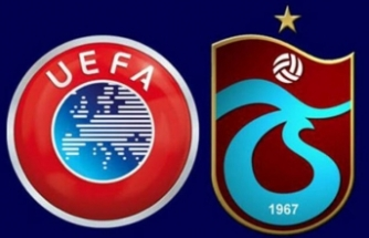 UEFA'dan, TFF'ye Trabzonspor uyarısı
