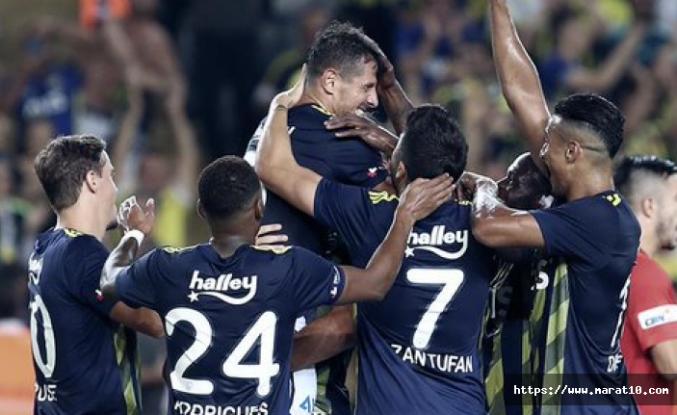 Gazişehir'e 5 atan Fenerbahçe 4 yıl sonra lider oldu