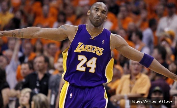 NBA efsanesi Kobe Bryant hayatını kaybetti!