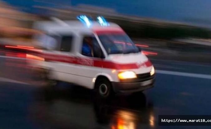 Trabzon'da kan donduran olay, kafasının üzerine düştü
