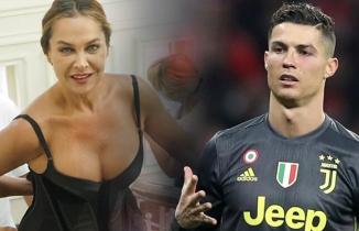 Olay oldu! Hülya Avşar, Cristiano Ronaldo'ya...