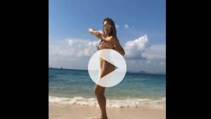 Paola Buba'nın dansı Instagram'ı salladı