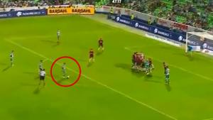 Osvaldo Martinez'den mest eden gol! Panenka vuruşuyla avladı!